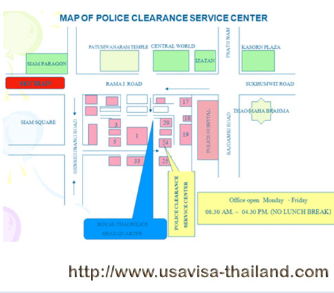 Police Clearance in Thailand