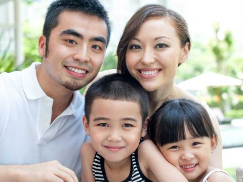 Family with K2 Visa Thailand